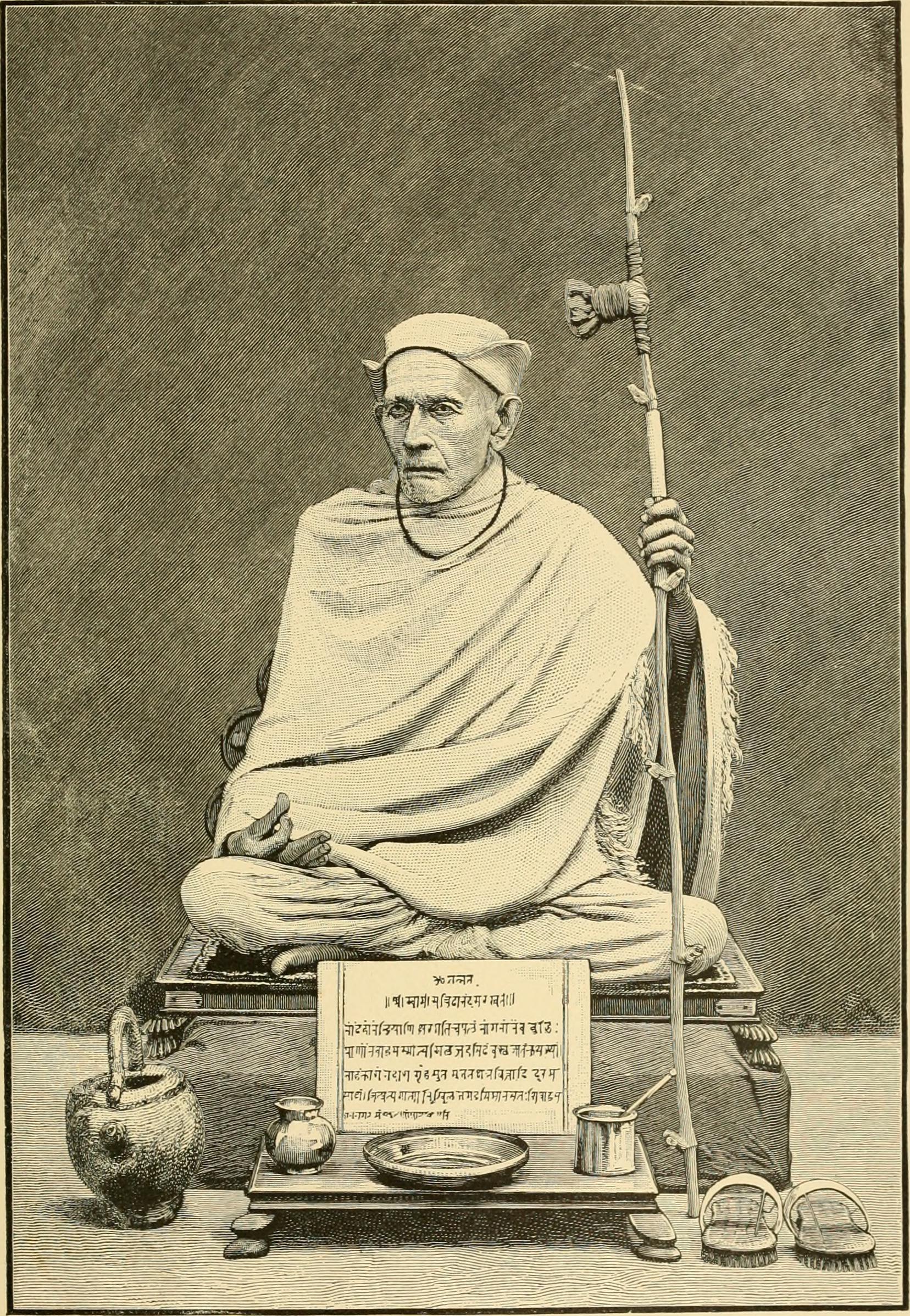 Buddhism, Hinduism, Brahmanism, Jogi, an ascetic man