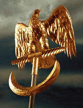 Eagle, Aquila, symbol of Imperial Rome