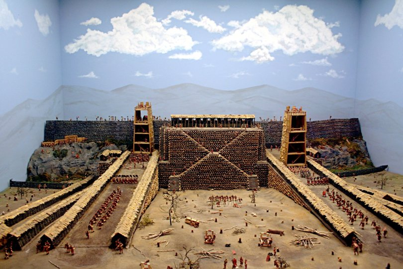 Roman Siege of Avaricum, Westpoint recreation