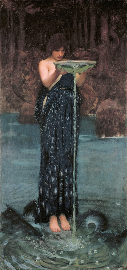 John William Waterhouse: Circe Invidiosa: Jealous Circe