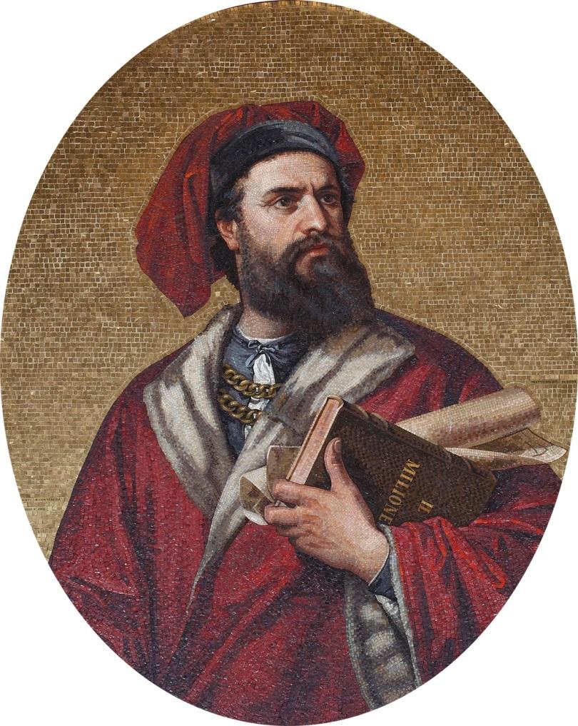 Marco Polo, Mosaic