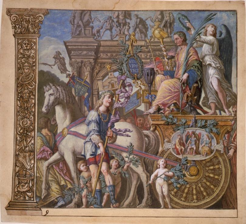 Triump of Julius Caesar, Roman Military Parade