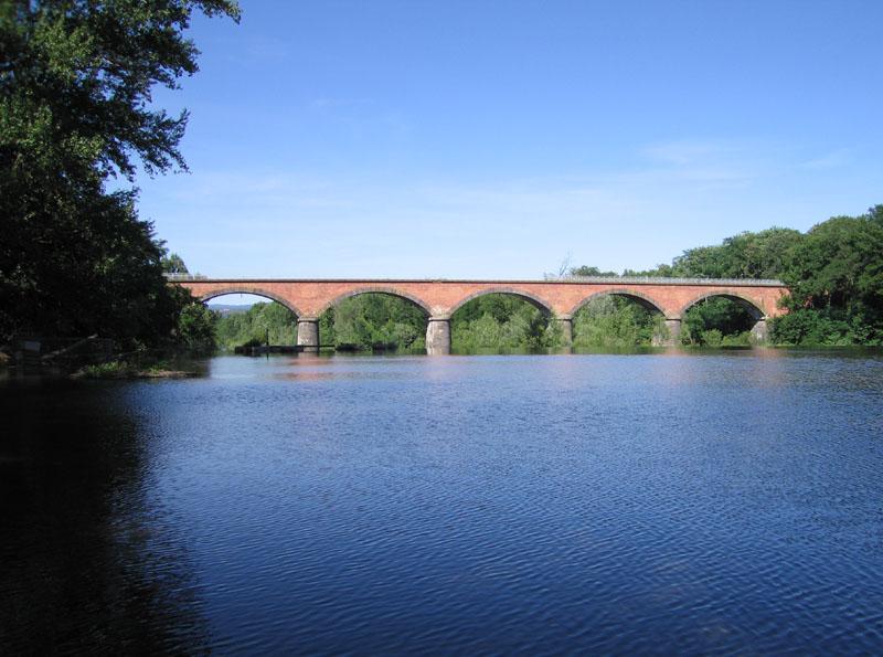 Bridge Over the Allier River