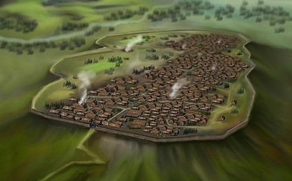 Celtic Oppidum Central Europe 1st century B.C. By Kenny Arne Lang Antonsen - Own work, CC BY-SA 4.0, https://commons.wikimedia.org/w/index.php?curid=35283296