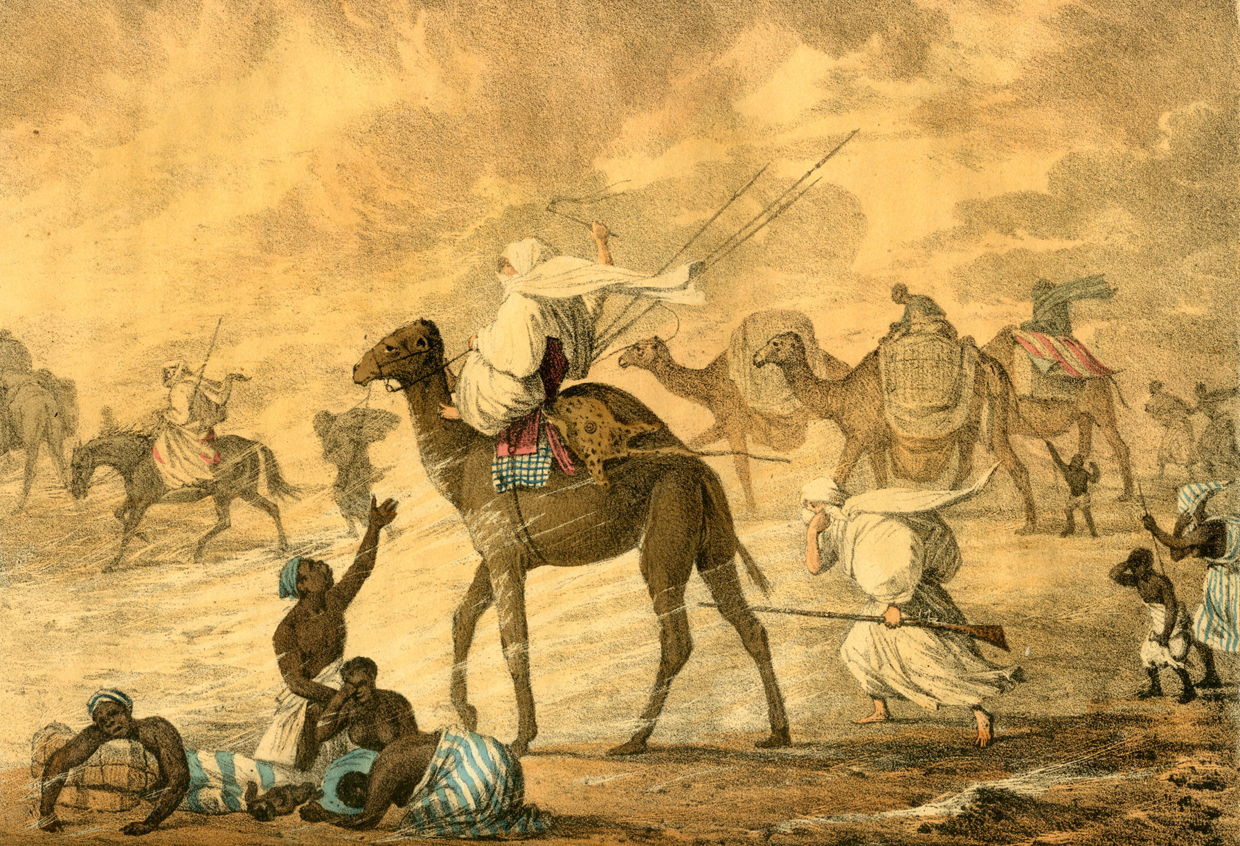 By George Francis Lyon (1795-1832) - Lyon (1821):A Narrative of Travels in North Africa in the years 1818, 1819, and 1820, accompanied by Geographical Notices of Soudan and of the Course of the Niger., Public Domain, https://commons.wikimedia.org/w/index.php?curid=25025857