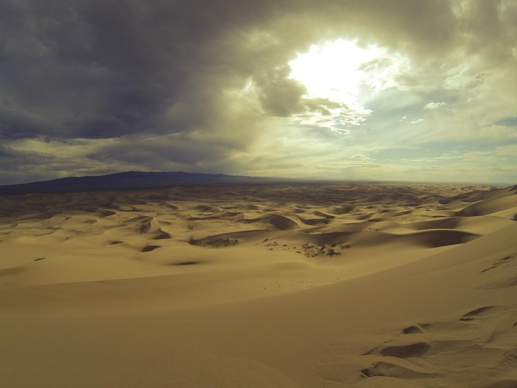 Gobi Desert Expanse