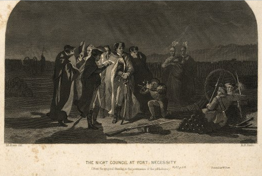 The Night Council at Fort Necessity