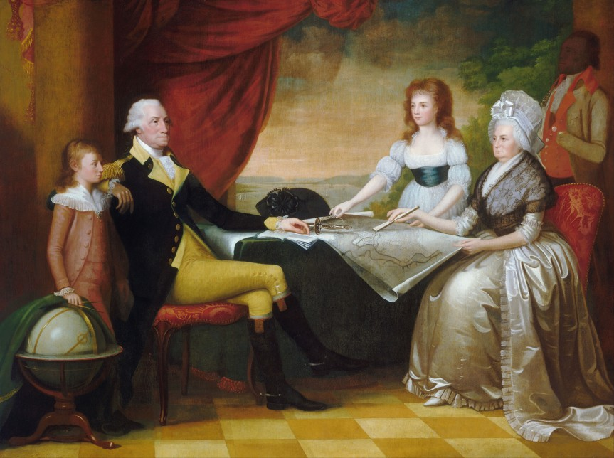 By Edward Savage - This file was derived from:  Edward Savage - The Washington Family - Google Art Project.jpg:, Public Domain, https://commons.wikimedia.org/w/index.php?curid=72190307